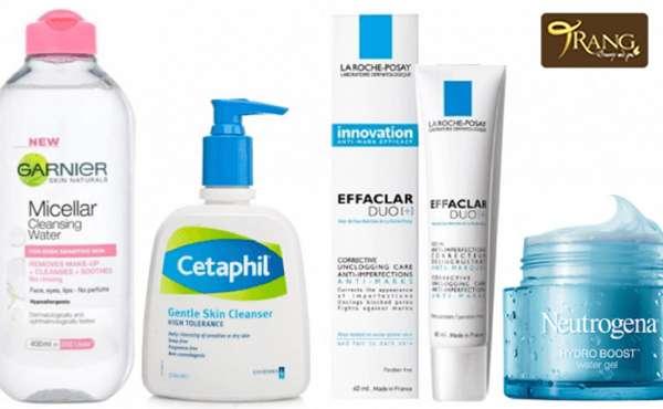 Các sản phẩm trị mụn ẩn dưới da