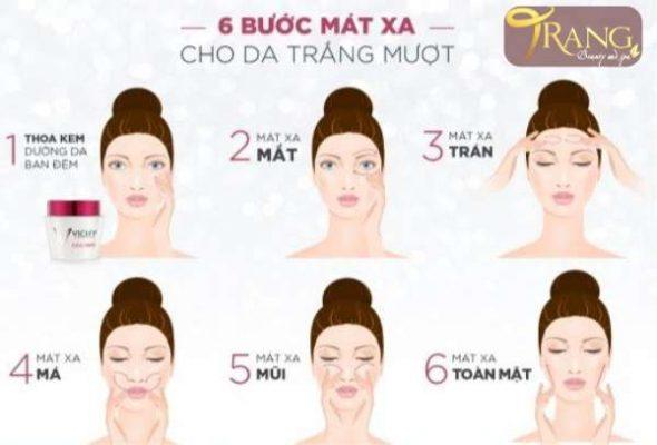Cách mát xa căng da mặt