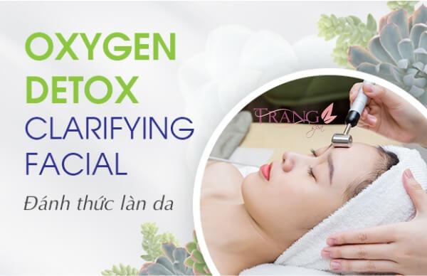 Đào thải độc tố da bằng oxygen