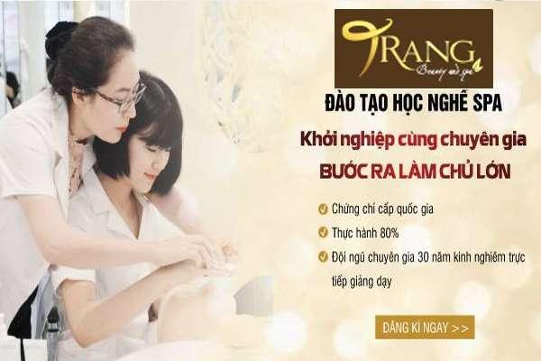 Địa chỉ học nghề spa uy tín tại Gia Lâm, Hà Nội