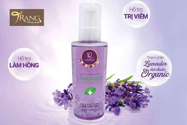 Dung dịch vệ sinh phụ nữ lavender organic