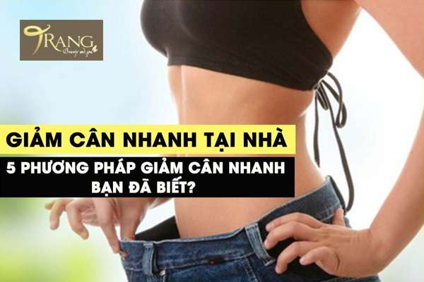 Phương pháp giảm cân an toàn tại nhà