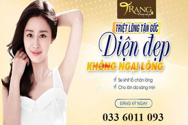 Spa triệt lông nách tốt nhất Đức Giang, Long Biên
