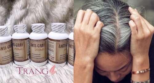 Viên uống trị bạc tóc Anti Gray