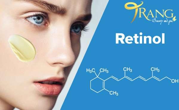 Da lỗ chân lông to có nên dùng Retinol