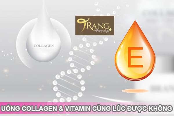 Uống Collagen và vitamin E cùng lúc được không