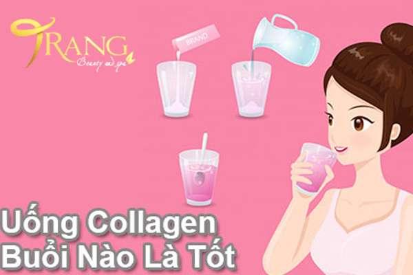 Uống Collagen vào thời điểm nào là tốt nhất