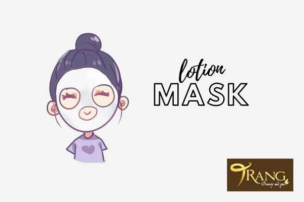 Lưu ý khi dùng lotion mask